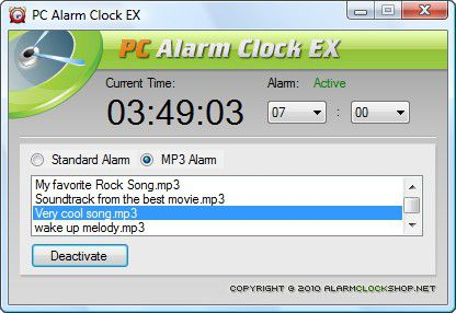 Vorschau PC Alarm Clock EX - Bild 1