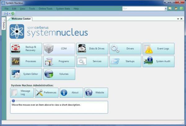 Vorschau System Nucleus - Bild 1