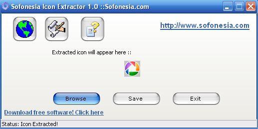 Vorschau Sofonesia Icon Extractor - Bild 1