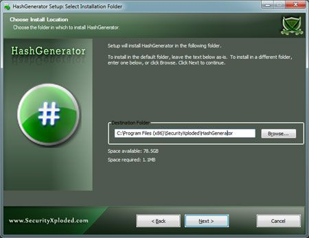 Vorschau Hash Generator - Bild 1