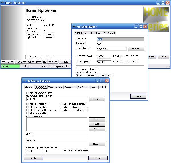 Vorschau Home FTP Server - Bild 1