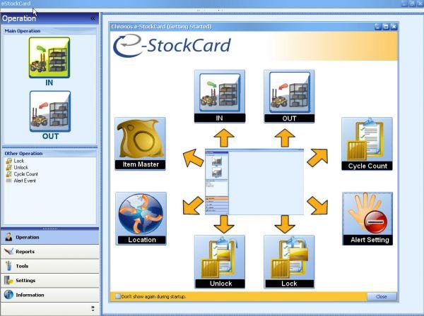 Vorschau Chronos eStockCard Inventory Software - Bild 1