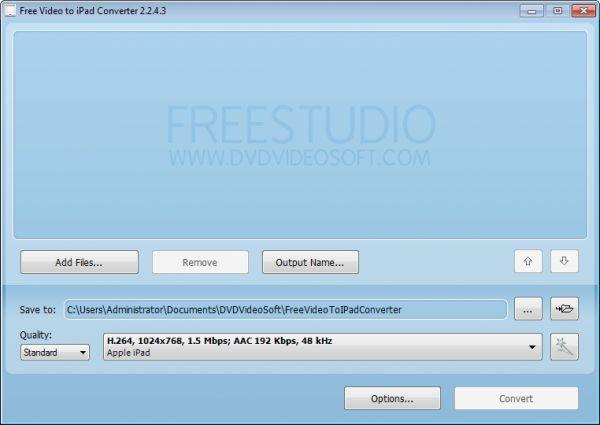 Vorschau Free Video to iPad Converter - Bild 1