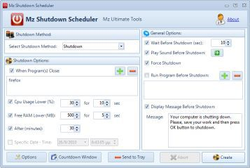 Vorschau Mz Shutdown Scheduler - Bild 1