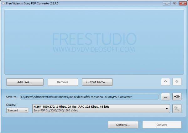 Vorschau Free Video to Sony PSP Converter - Bild 1