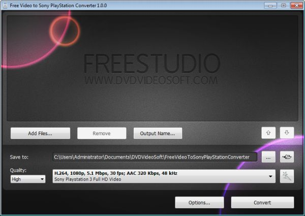 Vorschau Free Video to Sony PlayStation Converter - Bild 1