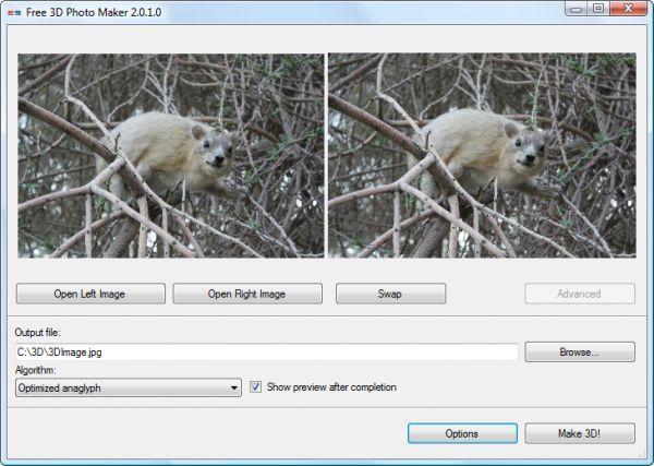 Vorschau Free 3D Photo Maker - Bild 1
