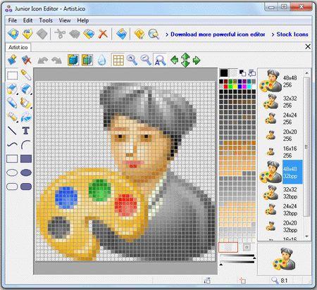 Vorschau Junior Icon Editor - Bild 1
