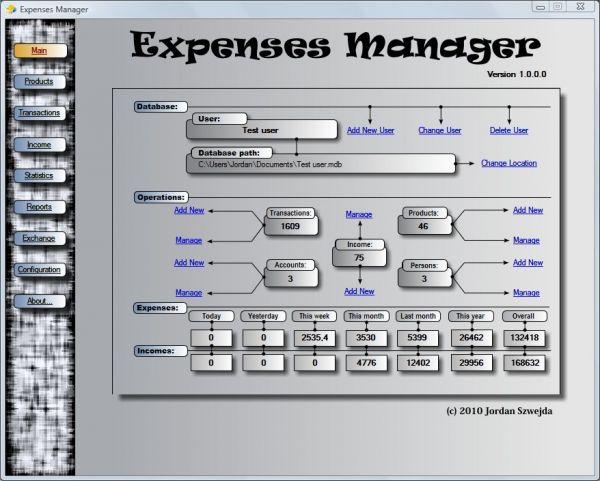 Vorschau Expenses Manager - Bild 1