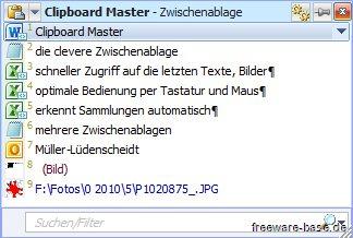 Vorschau Clipboard Master - Bild 1