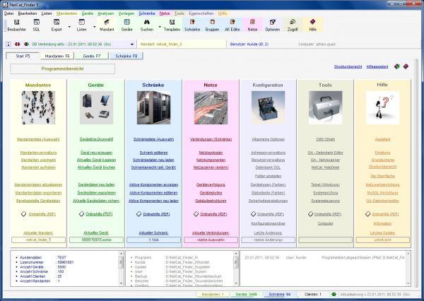 Vorschau NetCat_Finder 5 - Netzwerkmanagement - Bild 1
