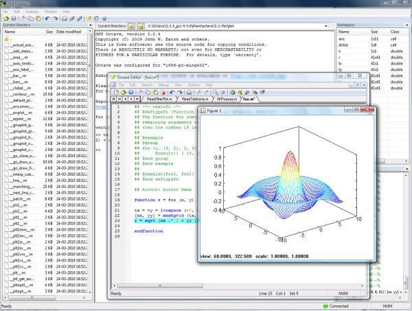 Vorschau GUI Octave - Bild 1