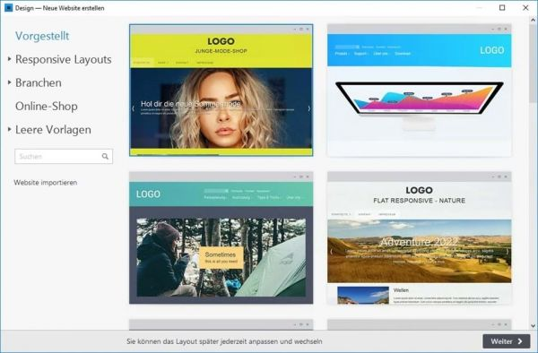 Vorschau Zeta Producer Desktop CMS - Bild 1
