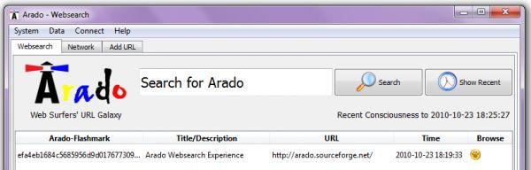 Vorschau Arado Open Source Websearch - Bild 1