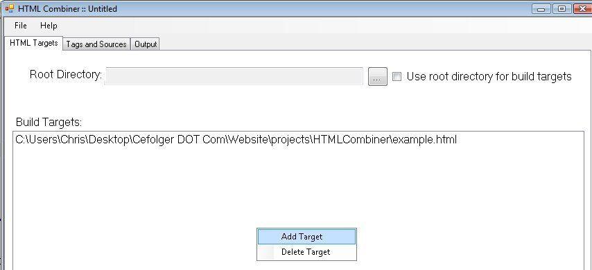 Vorschau HTML Combiner - Bild 1