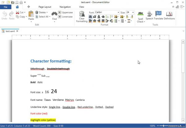 Vorschau Document.Editor - Bild 1