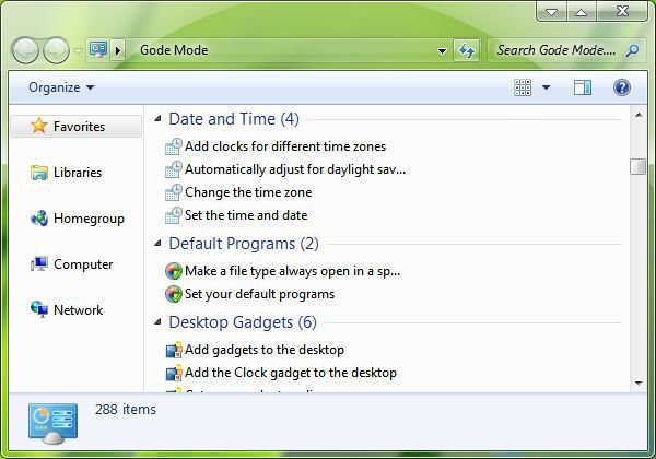 Vorschau GodMode Installer - Bild 1