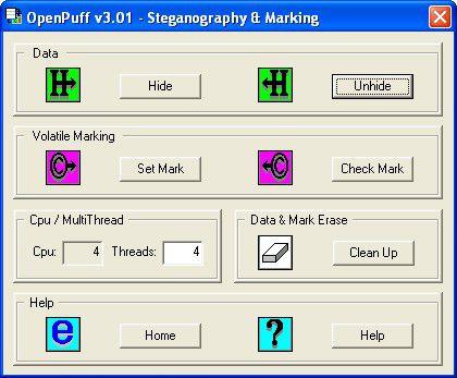 Vorschau OpenPuff Steganography und Watermarking - Bild 1