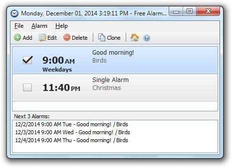 Vorschau Free Alarm Clock and Portable - Bild 1