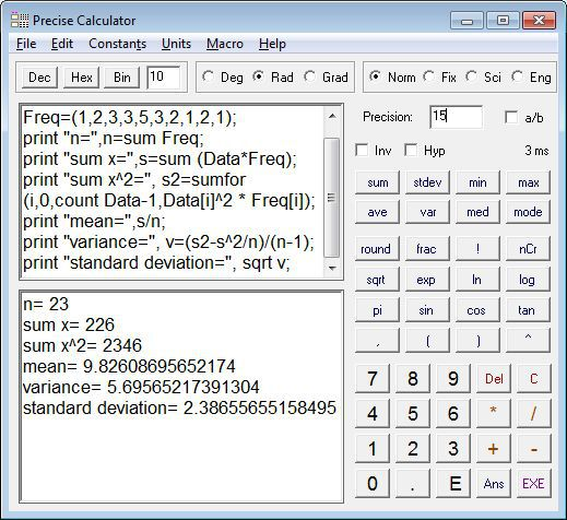 Vorschau Precise Calculator - Bild 1