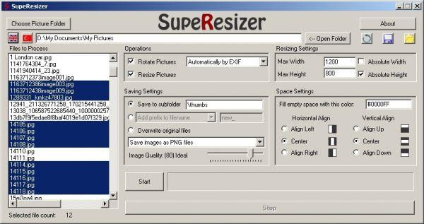 Vorschau SupeResizer - Bild 1