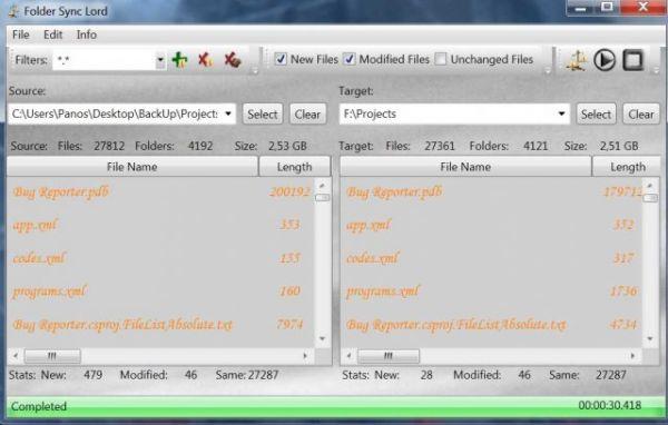 Vorschau Folder Sync Lord - Bild 1