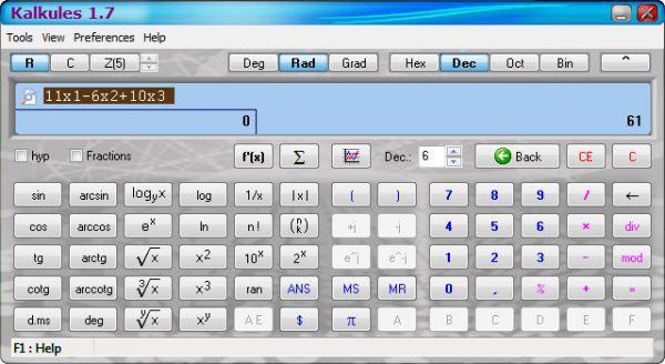 Vorschau Kalkules - Bild 1