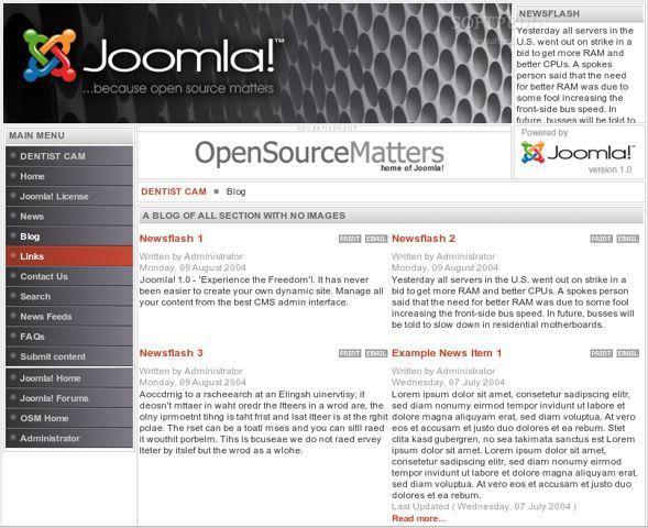 Vorschau BitNami Joomla! Stack - Bild 1