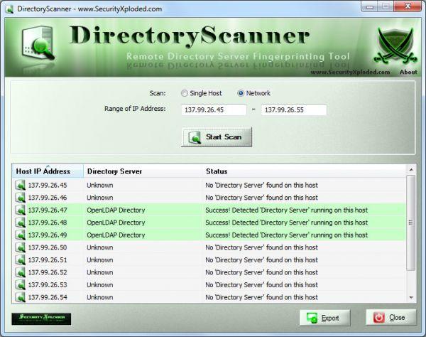 Vorschau Directory Scanner - Bild 1