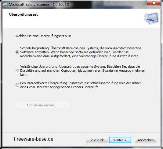 Vorschau Microsoft Safety Scanner - Bild 1