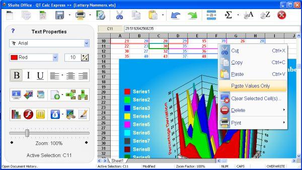 Vorschau SSuite Office - QT Calc Express - Bild 1
