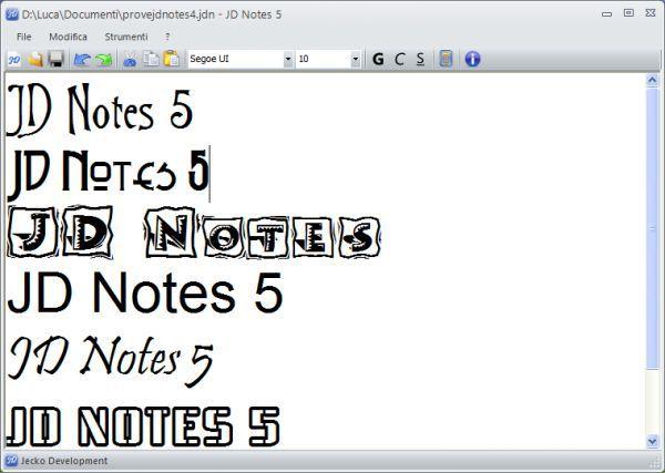 Vorschau JD Notes - Bild 1