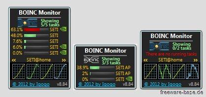 Vorschau BOINC Monitor - Bild 1