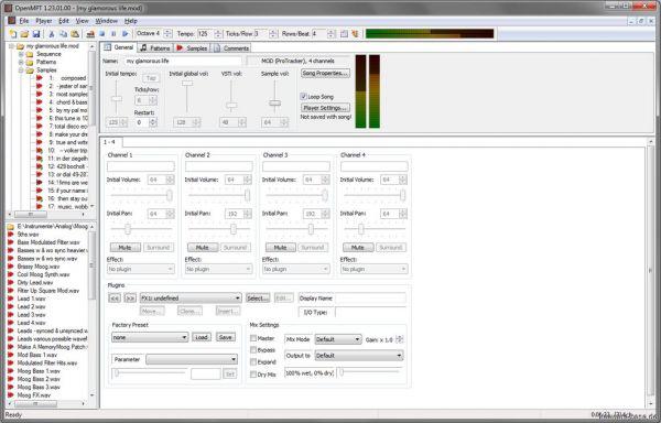 Vorschau OpenMPT - Bild 1