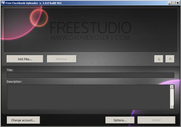 Vorschau Free Uploader for Facebook - Bild 1