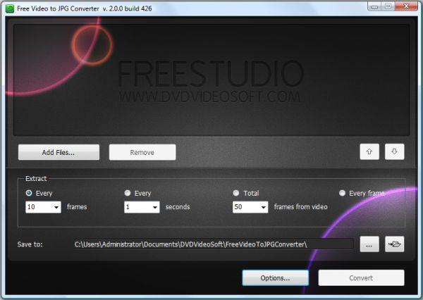 Vorschau Free Video to JPG Converter - Bild 1