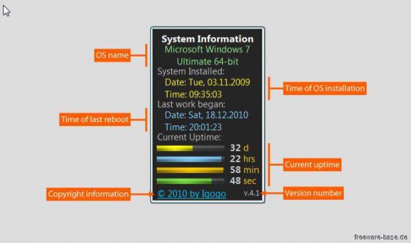 Vorschau System Uptime full Plus - Bild 1