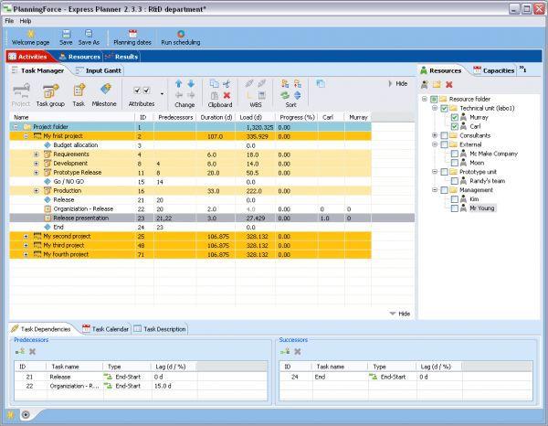 Vorschau PlanningForce Express Planner - Bild 1