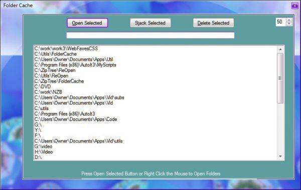 Vorschau Folder Cache - Bild 1