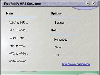 Vorschau Free WMA MP3 Converter - Bild 1