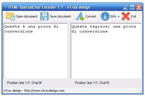 Vorschau HTML SpecialChar Encoder - Bild 1