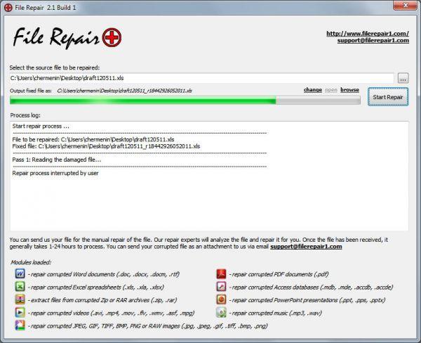 Vorschau File Repair - Bild 1