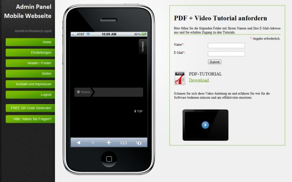 Vorschau Mobile Webseiten erstellen - Bild 1