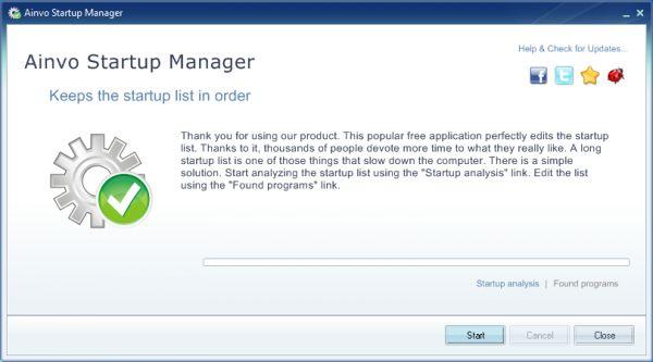 Vorschau Ainvo Startup Manager - Bild 1