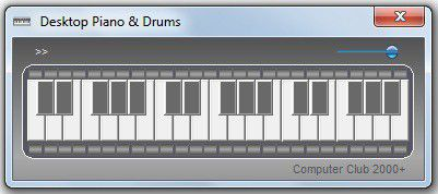 Vorschau Desktop Piano and Drums - Bild 1