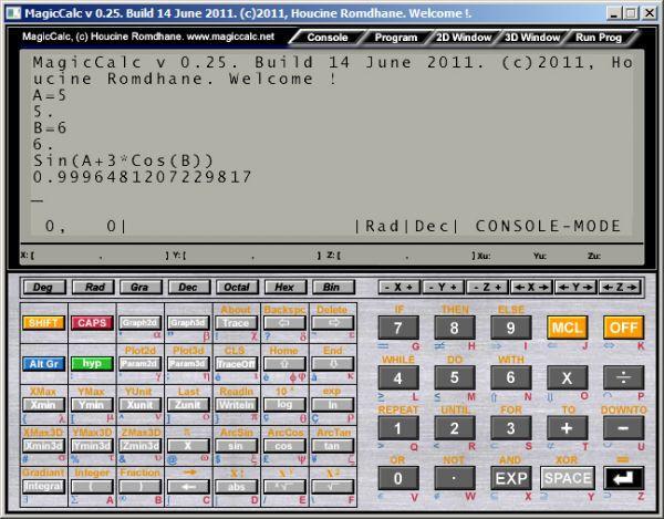 Vorschau MagicCalc - Bild 1