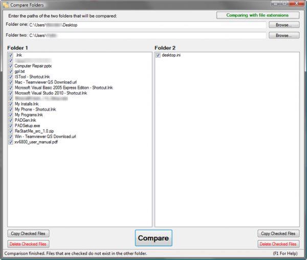 Vorschau Compare Folders - Bild 1