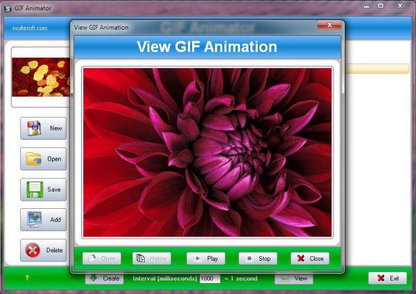 Vorschau SSuite - Gif Animator - Bild 1