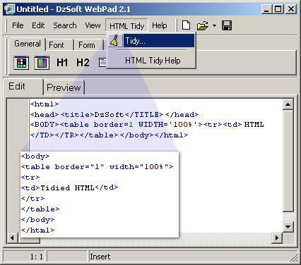 Vorschau DzSoft WebPad - Bild 1