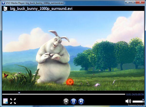 Vorschau VSO Media Player - Bild 1